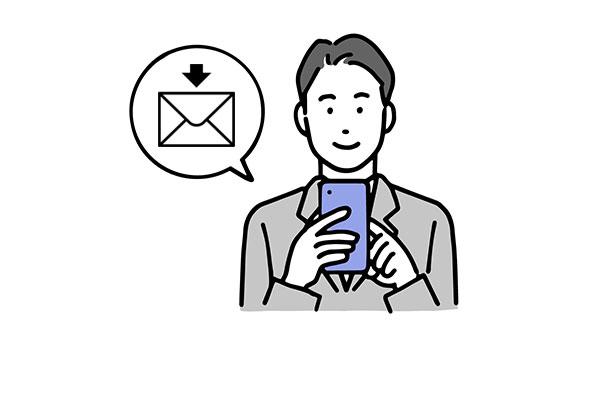 ビデオ通話の招待用URLを受信